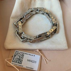 LOUIS VUITTON Monogram Chain Bracelet M